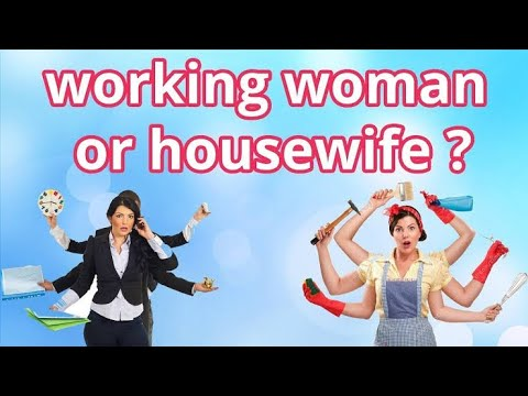 Who Are Happy Woman? Working Or Housewives ?