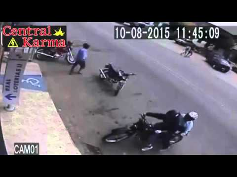 Thumbnail: ►Thief killed by police during robbery ● Instant Karma ● August 2015◄