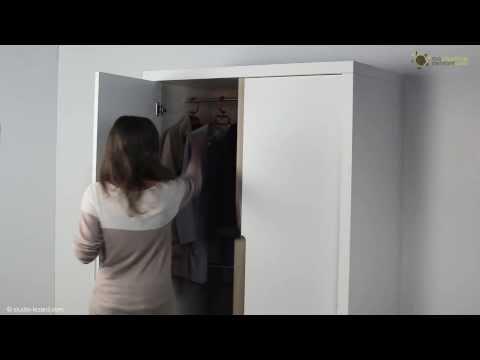 armoire enfant bow blanche ma chambre d enfant