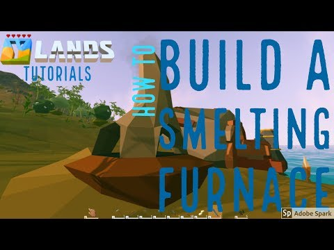 Ylands Tutorials - How and why to smelt Iron and copper!