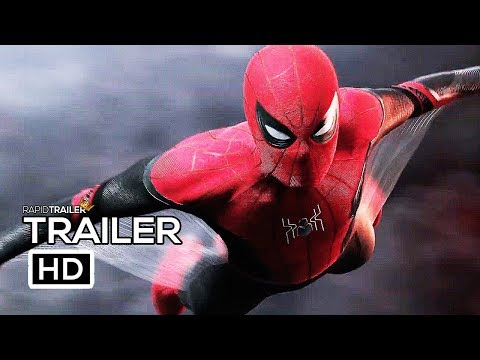 Play SPIDER-MAN: FAR FROM HOME Official Trailer (2019) Tom Holland, Marvel Superhero Movie HD