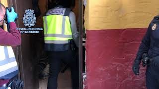 Intervenidos más de 1200 kilos de hachís en una operación en el campo de Gibraltar