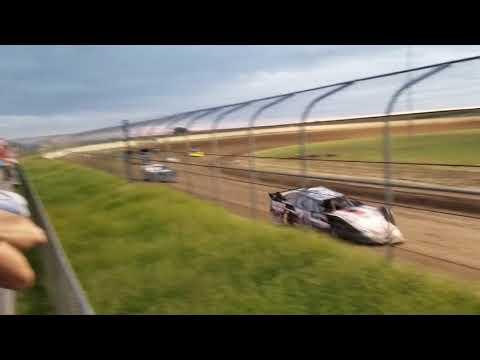 9-8-18 Junction Motor Speedway NCRA Late Model Heat Race Cory Dumpert