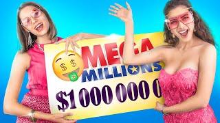 أنا فزت في اللوتري بمليار دولار!