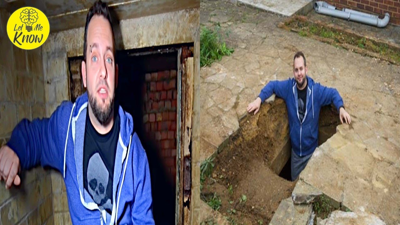 Man Kept Hearing Strange Noises Under Driveway, Look What He Found Inside