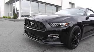 2018 Ford Mustang Convertible Walkaround
