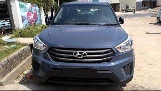 Hyundai Creta Mystic Blue | Phantom Black And Keys Looks 2015 | India