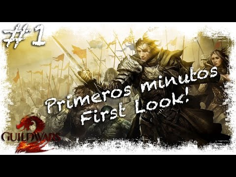 Guild Wars 2 | First Look / Primeros minutos | Gameplay Español 2015 mmorpg HD Free To Play
