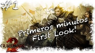 Guild Wars 2 Gratis | First Look / Primeros minutos | Gameplay Español mmorpg Free To Play