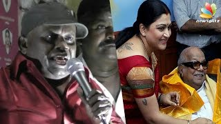 Kushboo served as a maid for Karunanidhi : Actor Senthil Comedy Speech | TN Election 2016 Results