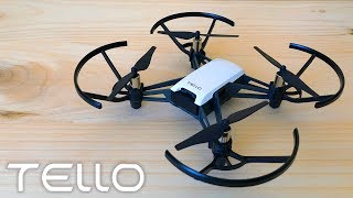 TELLO Drone Review (DJI & RYZE) Unboxing + Review