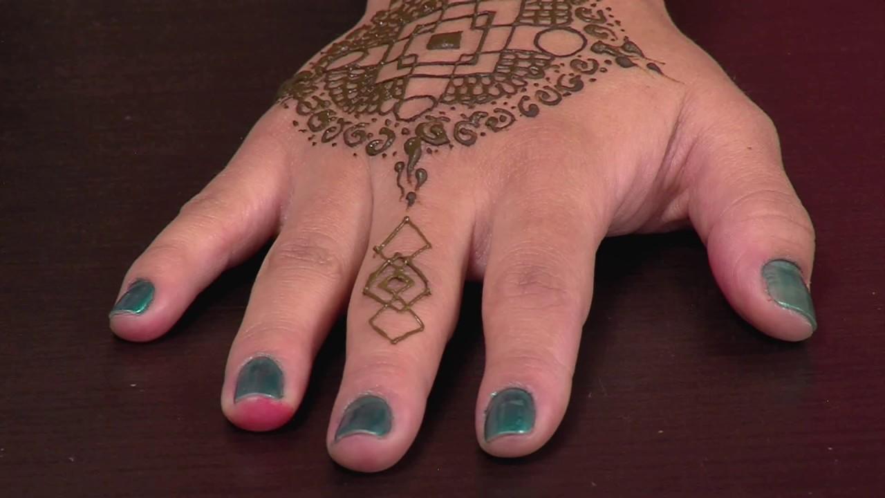 Tatuajes Henna El Salvador como hacer un tatuaje hindu en henna natural - hogar tv por juan