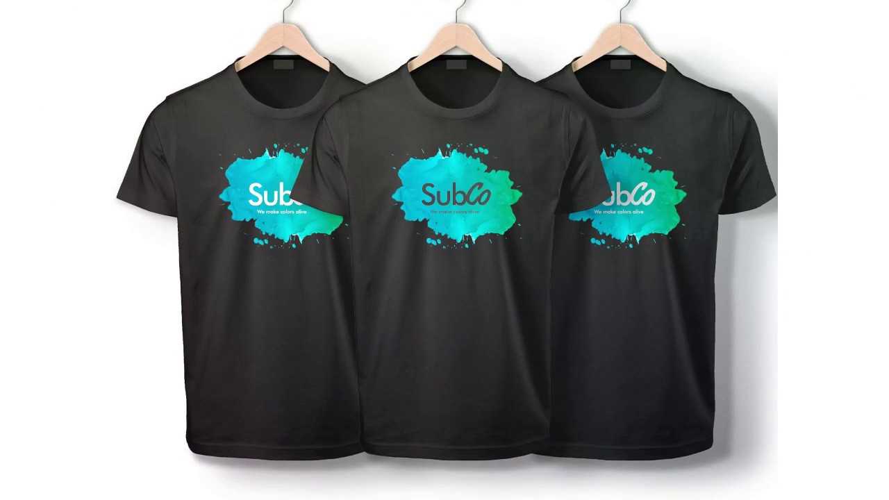 SubCo - Sublimation On Dark Cotton