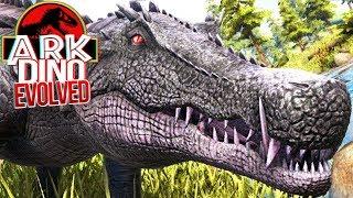 Download Video ARK Dino Evolved - Aterrorizando Os Herbívoros, Crocodilo Javali!   Dinossauros (#9) (PT-BR) MP3 3GP MP4