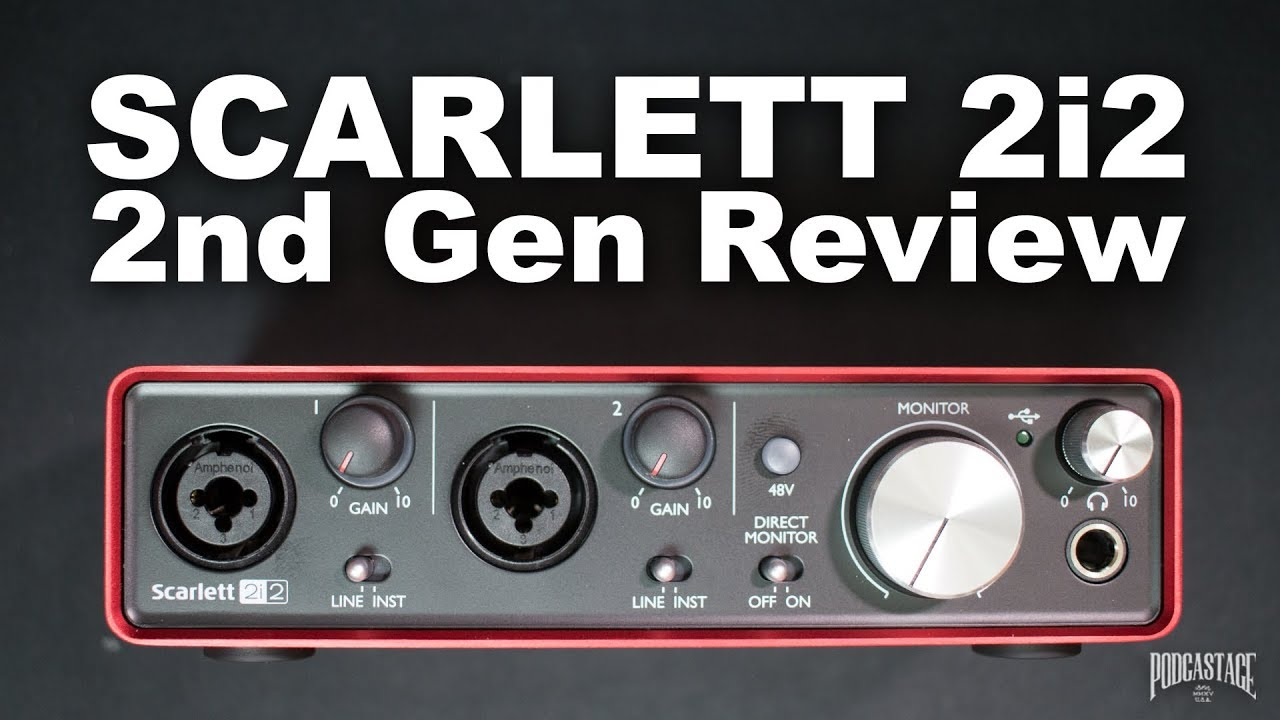 Scarlett 2i2 Focusrite Scarlett 2i2 2nd Gen Usb Audio Interface Review Explained