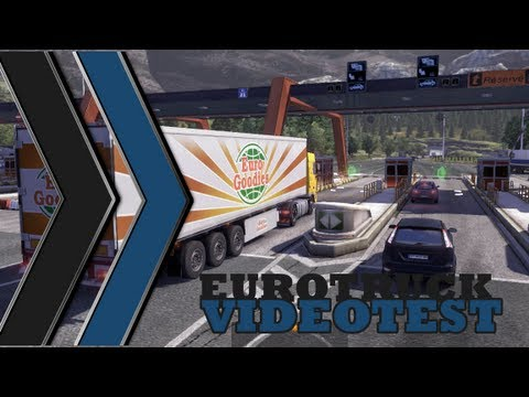 pc euro truck simulator 2 simulateur de conduite en camion vid otest youtube. Black Bedroom Furniture Sets. Home Design Ideas