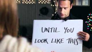 Love Actually - To me you are perfect