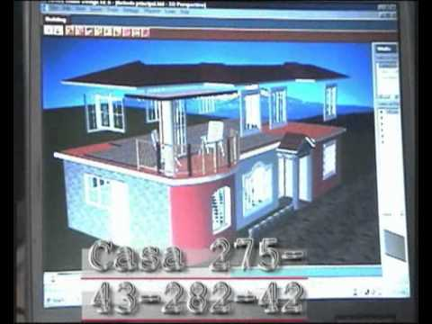 Dise o de casas americanas youtube for Disenos de casas americanas