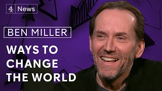 Actor and author Ben Miller on why he traded science for acting