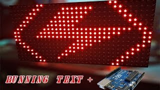 ARDUINO PROJECT : Running Text LED Matrix P10 With Arduino