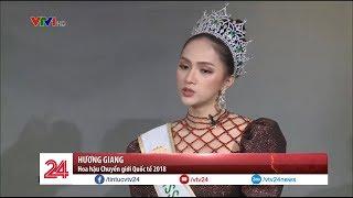 Hoa hậu Chuyển giới Quốc tế Hương Giang trò chuyện cùng Chuyển động 24h | VTV24