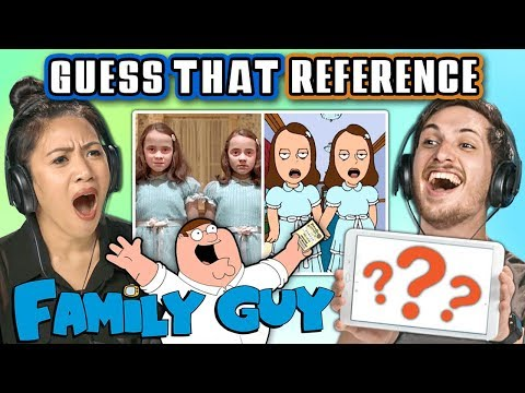 GUESS THAT FAMILY GUY REFERENCE CHALLENGE | FBE Staff Reacts