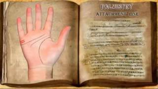 Palmistry  love line  - attachment (lines of attachment is not a line of marriage)