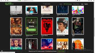 How to download Utorrent and movies from torrent site.
