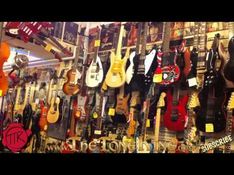 TTK on Location - London's Guitar Strip - Denmark Street, London England, U.K. - United Kingdom Soho
