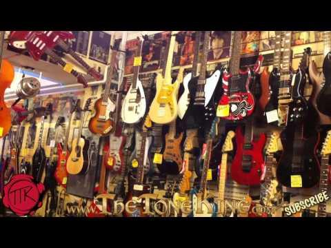 TTK On Location - London's Guitar Strip - Denmark Street, London England, U.K. - United Kingdom Soho
