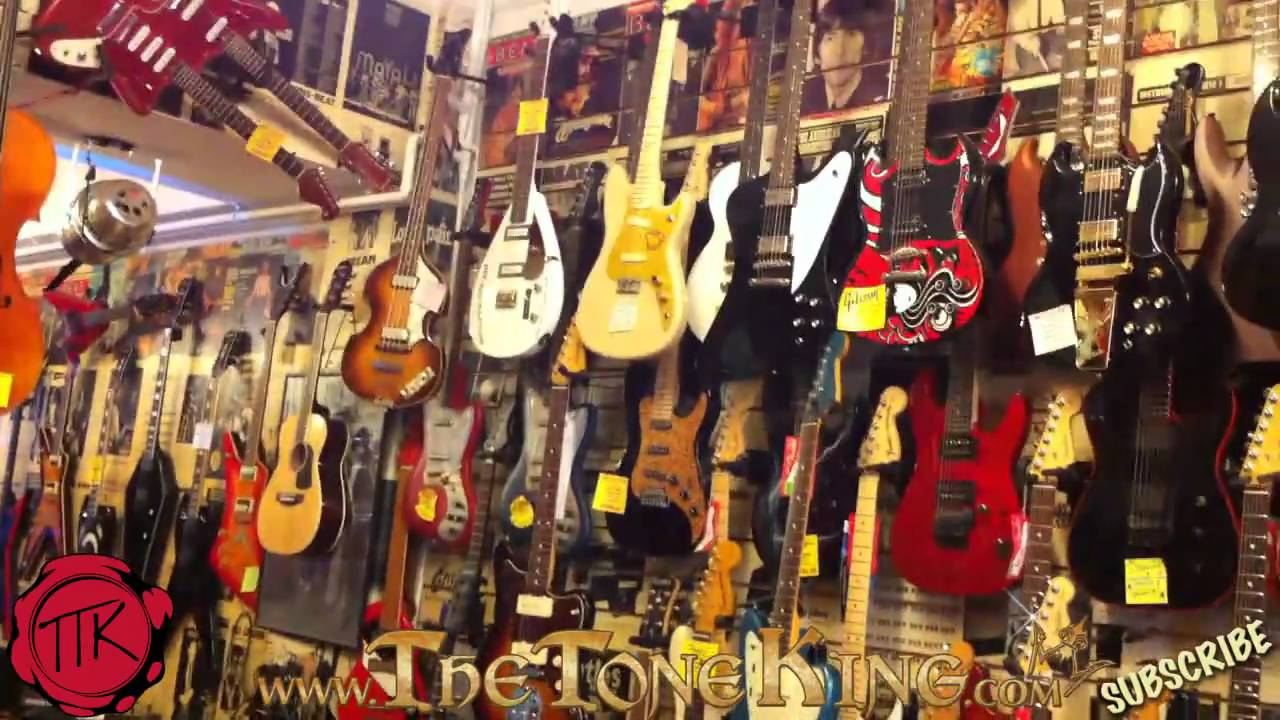 ttk on location - london's guitar strip - denmark street, london