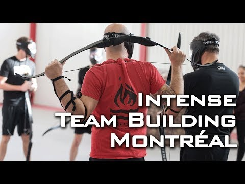 Intense Team Building in Montreal 2018