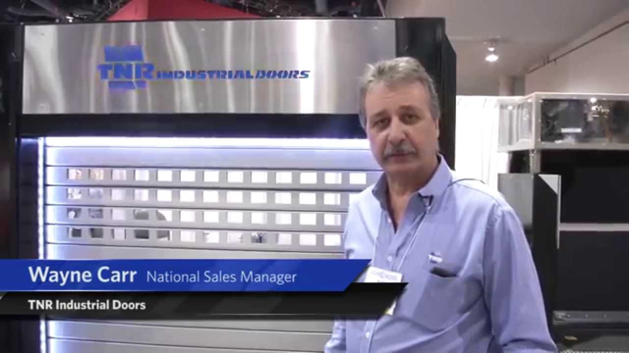 High Speed Aluminum Door - IDA Expo - TNR Industrial Doors  sc 1 st  YouTube & High Speed Aluminum Door - IDA Expo - TNR Industrial Doors - YouTube