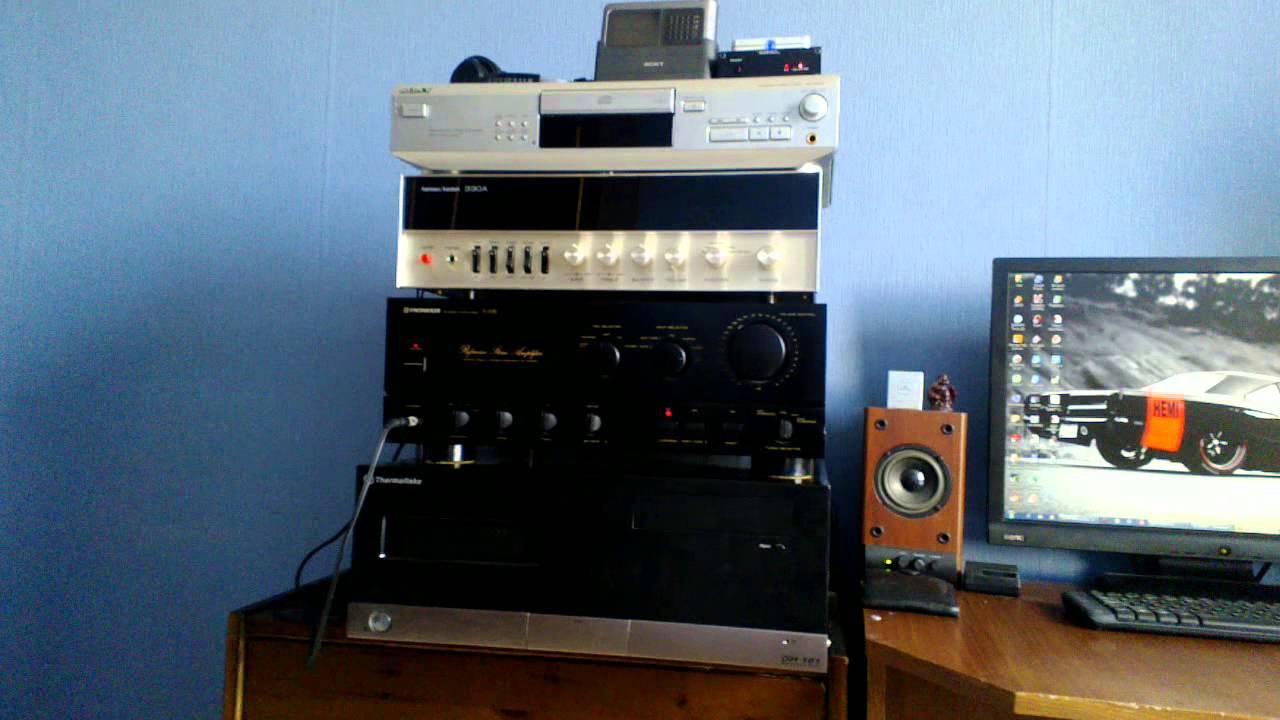 Realtek ALC887 + S M S L  SD-1955+ (Optical Connection)