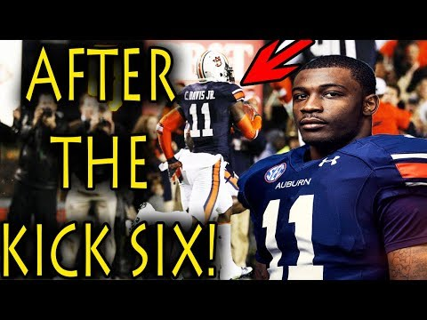 What Happened to Chris Davis AFTER the Iron Bowl Kick 6?