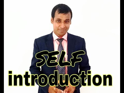 Self Introduction in Interview english for freshers ...