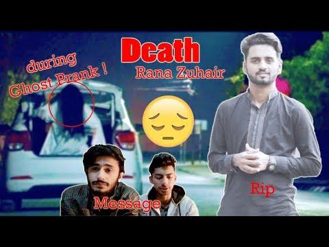 Lahori vines Prankster killed during ghost prank | Rana Zuhair | public Message | Lahore vynz