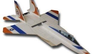 """Dynamic Foamy Micro Df-15 """"pusher Jet"""""""
