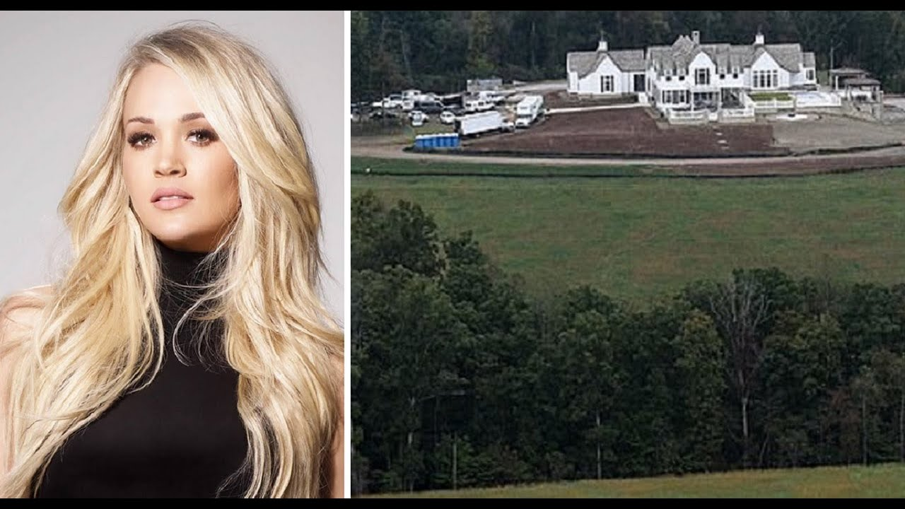 Carrie Underwood S Forever Home Has Acres To Roam