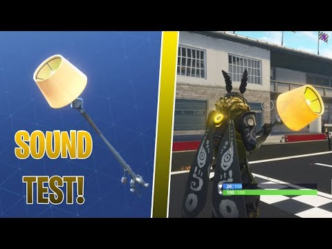 FORTNITE LAMP AXE SOUND IN GAME! MOTH SKIN GAMEPLAY | BEFORE YOU BUY!