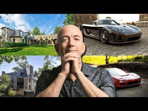 Jeff Bezos Lifestyle Cars Houses Biography Net Worth Family Youtube