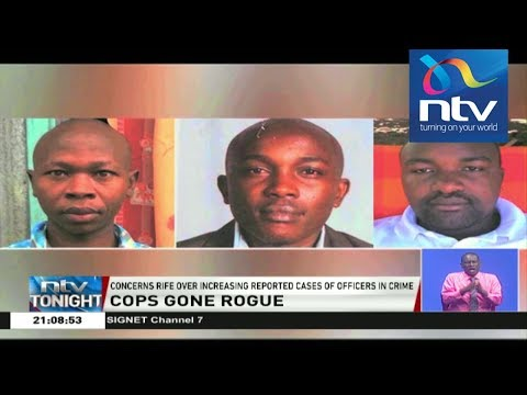 Three police officers involved in Eastleigh robbery interdicted