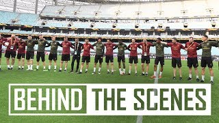 Final preparations for the Europa League final against in Chelsea in Baku | Behind the scenes
