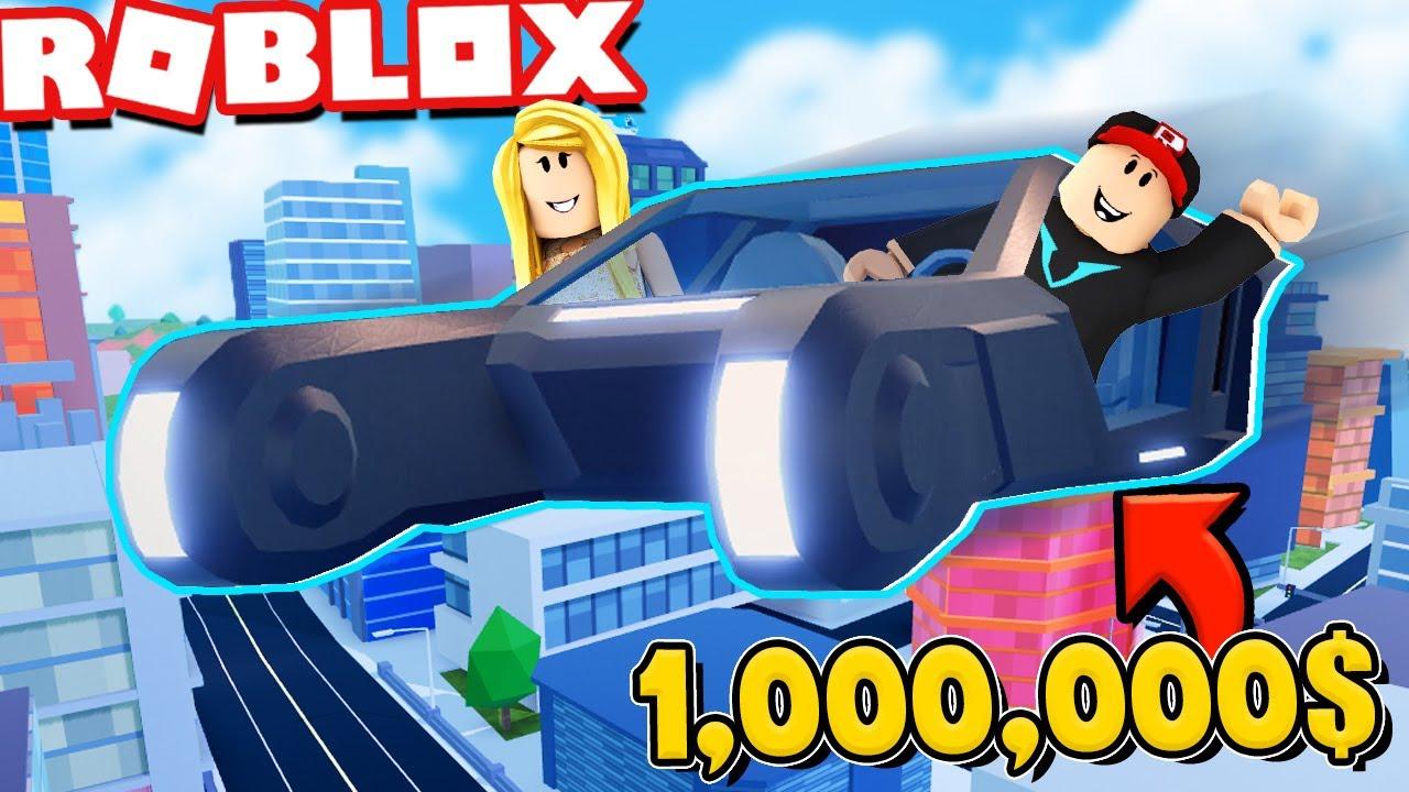 KUPIŁEM NOWY LATAJĄCY SAMOCHÓD BLADE ZA 1,000,000$ W ROBLOX JAILBREAK! | Vito i Bella