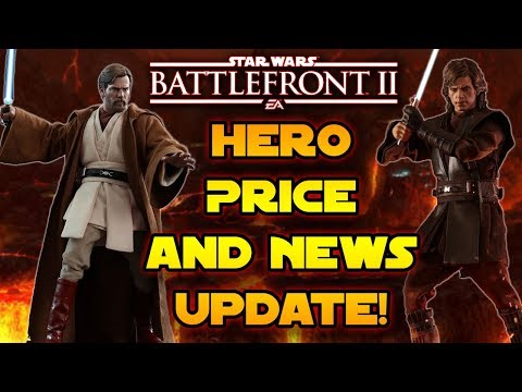 NEWS UPDATE! Heroes Less Than 50k! Community Transmission & Roadmap Coming - Star Wars Battlefront 2 thumbnail