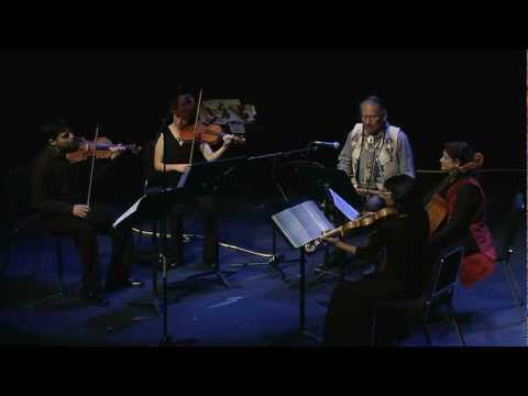 Whippoorwill - R. Carlos Nakai with the Arkaira String Quartet, Live at Montgomery College