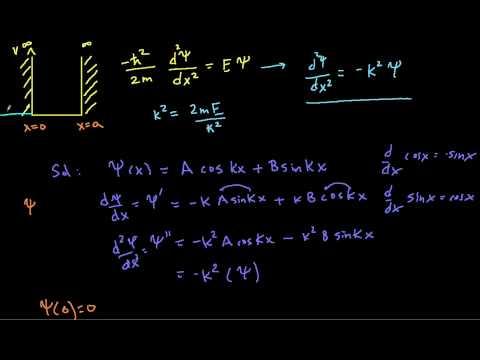 quantum mechanics: infinite square well (part I)