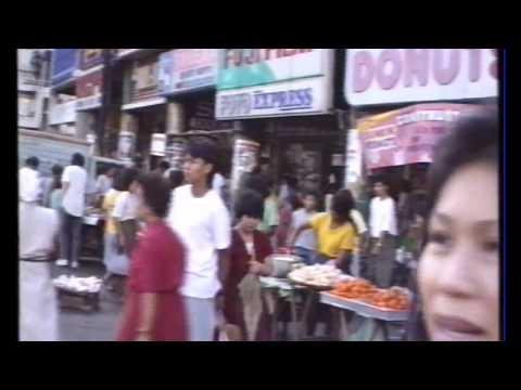 Shopping in the 80's (Manila 1989)