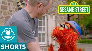 Sesame Street: Murray Rides A Bike