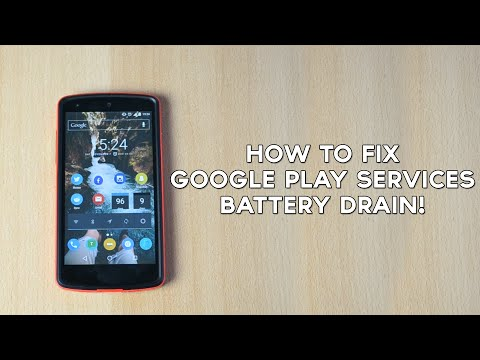 How To Fix Google Play Services Battery Drain!